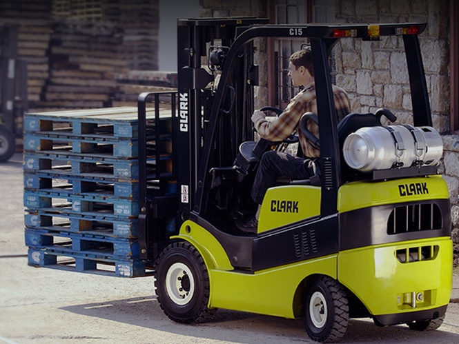 Clark Forklift Battery