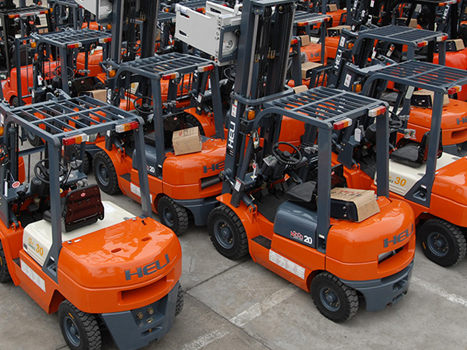 Heli Forklift Battery
